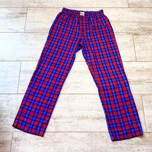 ⭐️3 for $21⭐️ GAP RED & BLUE plaid sleeping pants